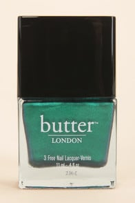 Butter London Thames Metallic Teal Nail Lacquer at Lulus.com!