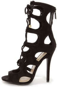 Roma 31 Cutout Lace-Up Booties at Lulus.com!