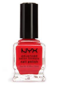 NYX Advanced Salon Formula Fire Red Nail Polish at Lulus.com!