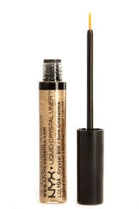 NYX Crystal Silk Gold Liquid Crystal Liner at Lulus.com!