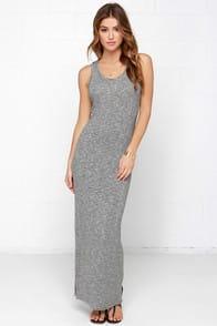 Marl I Will, Marl I Won't Black Striped Maxi Dress at Lulus.com!