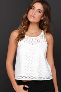 Jack by BB Dakota Briar Ivory Top at Lulus.com!
