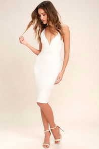 Gracefully Yours White Dress at Lulus.com!