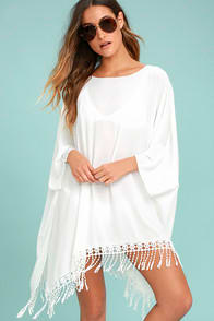 To the Hills Ivory Crochet Cover-Up at Lulus.com!