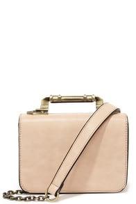 Meet in the Metal Blush Pink Mini Handbag at Lulus.com!