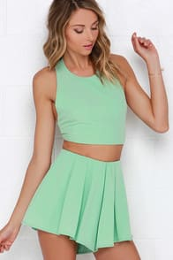 Do a Double Take Mint Green Two-Piece Set at Lulus.com!