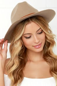Billabong Better Over Here Beige Fedora Hat at Lulus.com!