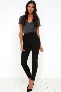 Rollas Scorpion Black High-Waisted Jeans at Lulus.com!