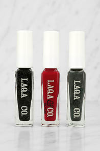 LAQA & Co. Nail Polish Threefer Gift Box at Lulus.com!