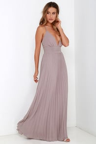 Depths of My Love Taupe Maxi Dress at Lulus.com!