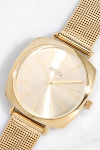 Breda Vix Gold Watch at Lulus.com!