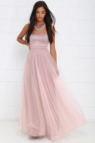 Dance of Dalliance Mauve Maxi Dress at Lulus.com!