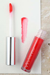 Modern Minerals Coral Glow Emotive Coral Pink Lip Gloss at Lulus.com!