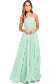 Everlasting Enchantment Sage Green Maxi Dress at Lulus.com!