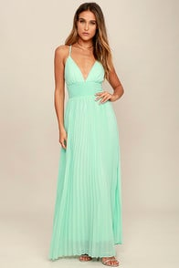 Depths of My Love Mint Maxi Dress at Lulus.com!