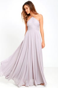 Everlasting Enchantment Grey Maxi Dress at Lulus.com!