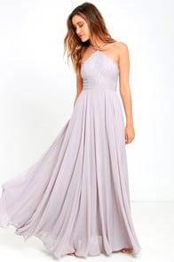 Everlasting Enchantment Grey Maxi Dress at Lulus.com!