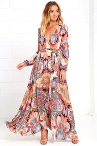Global Citizen Cream Print Maxi Dress at Lulus.com!