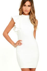 Au Revoir Ivory Bodycon at Lulus.com!