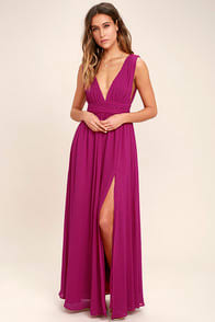 Heavenly Hues Magenta Maxi Dress at Lulus.com!