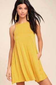 Tupelo Honey Yellow Dress at Lulus.com!