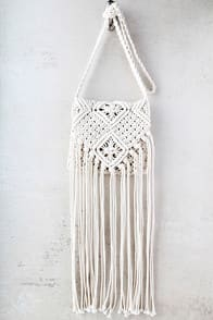 Mahala Cream Crochet Fringe Purse at Lulus.com!