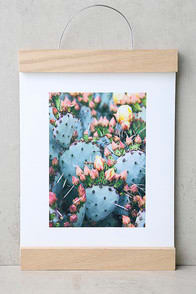 DENY Designs Prickly Pear Art Print and Hanger at Lulus.com!
