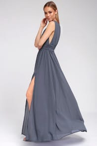 Heavenly Hues Denim Blue Maxi Dress at Lulus.com!