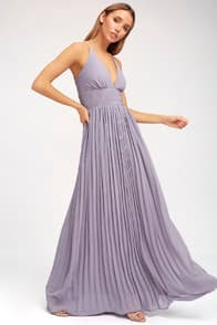 Depths of My Love Light Purple Maxi Dress at Lulus.com!