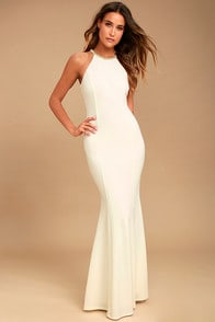 Girl in the Mirror White Beaded Maxi Dress at Lulus.com!