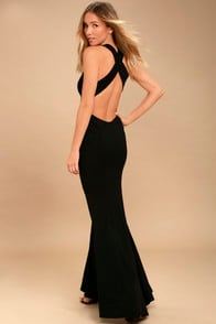 Heaven and Earth Black Maxi Dress at Lulus.com!