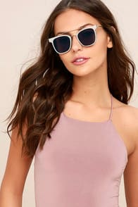 Spitfire FTL Black and Silver Mirrored Sunglasses at Lulus.com!