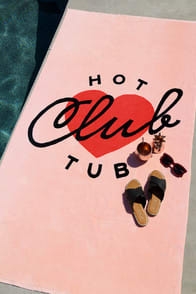 ban.do Beach, Please! Hot Tub Club Blush Giant Beach Towel at Lulus.com!