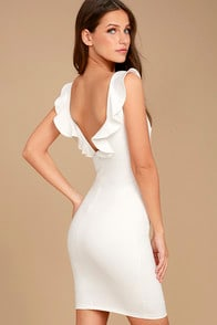 Simply Radiant White Bodycon Dress at Lulus.com!