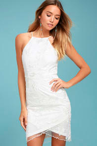 Moment White Embroidered Dress at Lulus.com!