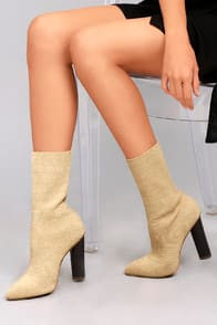 Emmaline Natural Knit Mid-Calf Boots at Lulus.com!