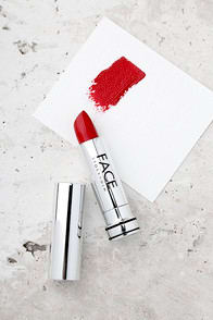 FACE STOCKHOLM EVITA RED MATTE LIPSTICK at Lulus.com!