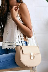 Sincerely Stylish Taupe Purse at Lulus.com!
