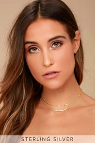 MY WISH GOLD LAYERED CHOKER NECKLACE at Lulus.com!