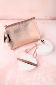 TWEEZERMAN ROSE GOLD LOVE STORY GIFT SET at Lulus.com!