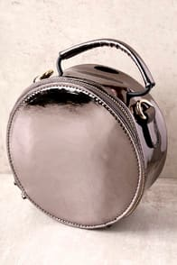 FAST LANE GUNMETAL PURSE at Lulus.com!