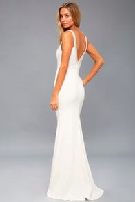 Celena White Beaded Maxi Dress at Lulus.com!