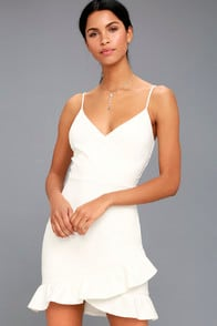 SEALED WITH A KISS WHITE BODYCON DRESS at Lulus.com!