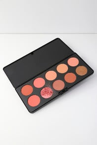 10 COLOR NUDE BLUSH PALETTE at Lulus.com!