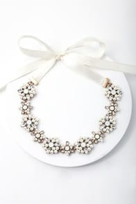Love You Still Cream Rhinestone Headband at Lulus.com!