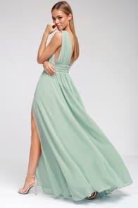 Heavenly Hues Mint Green Maxi Dress at Lulus.com!