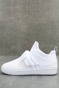 Lancer White Sneakers at Lulus.com!