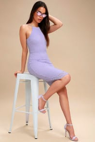 Magic of Love Lavender Lace Bodycon Dress at Lulus.com!