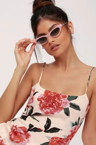 Crap Eyewear The Ultra Jungle Blush Pink Cat-Eye Sunglasses at Lulus.com!