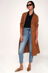 Devonshire Tan Trench Coat at Lulus.com!